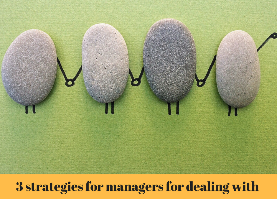 3 strategies for managers for dealing with workplace bullying. No. 3 is hardest!