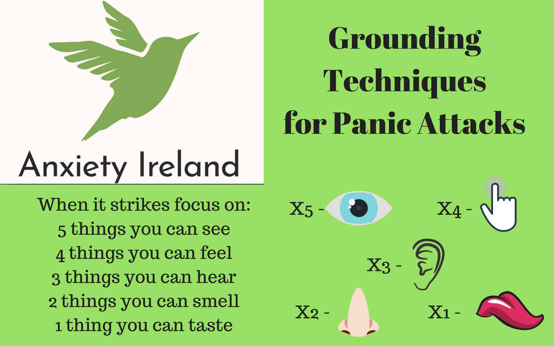 Grounding technique for panic attacks